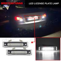 2x LED Kennzeichen Licht Lamp Weiß für Mercedes-Benz SL-Class R129 E-Class S124