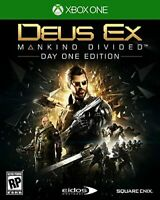 Deus Ex Mankind Divided Day One Edition XBOX One Action Shooter Game