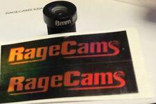 8.25mm Narrow View FPV Rectilinear LENS For Gopro Hero5 Hero6 Hero7 black camera