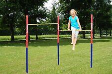Hudora Fabian Gimnasia Horizontal Bar Set gimnasio de entrenamiento de Fitness Kids Playground