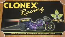 2015 Shawn Gann Clonex Racing Buell Pro Stock Motorcycle poster