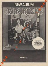 Jack Bonus Grunt LP advert Time Out clipping 1971/2