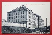 Militär AK DRESDEN um 1910 Kaserne des II. Bataillon 12. Inf. Regt. 177  ( 27641