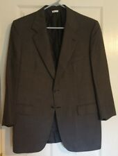 Exquisite Brioni Traiano Charcoal Gray 2 Button Wool Sport Coat Sz 40S Italy