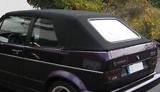 VW GOLF 1 CABRIO VERDECK CABRIOVERDECK STOFF SCHWARZ NEU