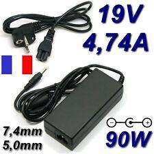 Adaptateur Secteur Alimentation Chargeur Portable PC 19V 4,74A HP N193 CQ60 CQ50