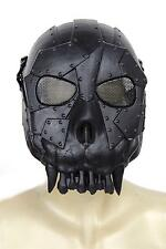 Black Skull Skeleton Army Airsoft Paintball BB Gun Full Face Game Protect Mask