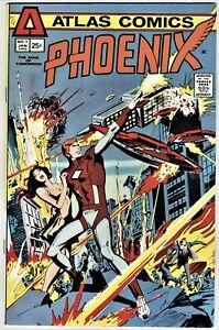 PHOENIX (1975 SERIES)  # 1 in VERY FINE + CONDITION ATLAS-SEABOARD COMICS