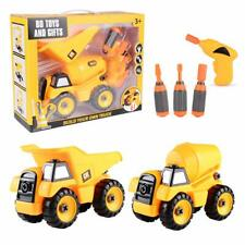 Take Apart Toys Set - Construction Trucks - Dump Truck, Cement Truck  Stem Lear