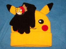 One Size Child Boys Pokemon  Hat & Glove Set