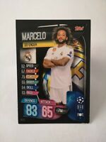 Carte panini match attax 2019 - 2020 MARCELO Real Madrid champions league
