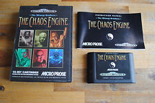 Jeu THE CHAOS ENGINE pour Sega MEGA DRIVE (MD) COMPLET