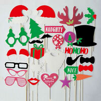 28 * Photo Booth Props Mustache Lip Stick Wedding Happy Christmas New Year Party