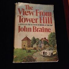 THE VIEW FROM TOWER HILL John Braine HardBack 1st American Ed 1st Printing 1971