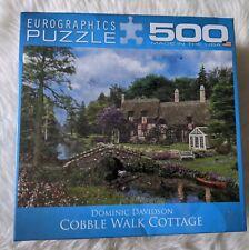 Large Pieces Cobble Walk Cottage Eurographics Family Puzzle 500