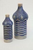 Albin Müller Jugendstil, 2 Likörflaschen gefertigt für Carl Mampe Berlin