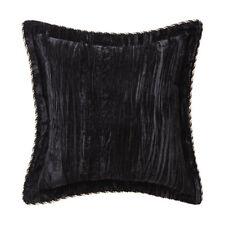 Davinci Venetian Night Black Filled Square Cushion 43cm x 43cm
