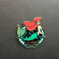 WDW - Zodiac POM Series - January 2001 - Aquarius - Ariel Disney Pin 3438