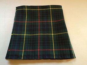 Hunting Stewart Tartan Baby Kilt 0-3 m to 2-3 y (Waist & Length Sizes Given)