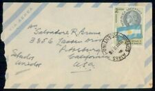 Mayfairstamps Argentina 1958 to US Airmail Cover wwe13373