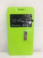 Funda Flip para HTC DESIRE510 tipo libro VERDE ALTA CALIDAD+PROTECTOR PANTALLA G