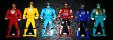 POWER RANGERS Super Megaforce Legendary Ranger Key Pack Ninja Storm Lot of 6