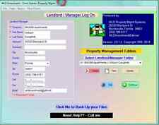 Landlord Property Management Income Software
