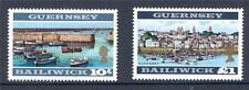 Guenrsey 1969 Definitives 10/- & £1 perf. 13½ x 13 mint (2014/07/16#02)