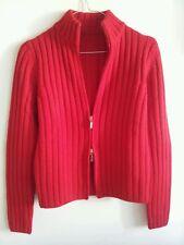 Maglione in lana da donna Taglia S colore rosso