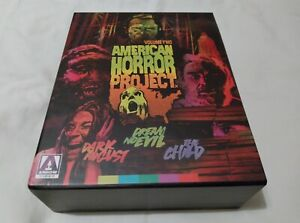 American Horror Project Volume 2 - 3 Movies - UK Blu Ray Limited Edition Boxset