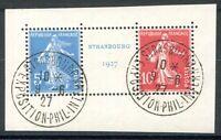 FRANKREICH 1927 218-219 gestempelt TADELLOS aus BLOCK2 (Z2196