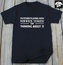 Norwich Terrier Dog T-Shirt Dog Breed Pet Dogs Animal Lover Dog Owner Person Tee