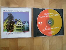 MORMON TABERNACLE CHOIR JOY TO THE WORLD 15 TRACK CHRISTMAS CD ALBUM EXC
