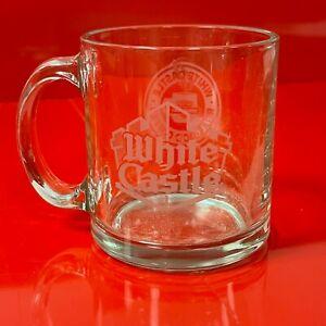 White Castle Hamburger Restaurant Real Good Coffee Glass Mug