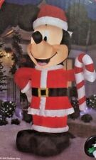 NEW GIANT 10.5 FT TALL DISNEY CHRISTMAS MICKEY MOUSE CANDY CANE INFLATABLE GEMMY