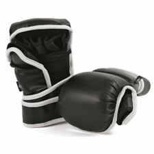 MMA Sparring Gloves Vinyl MMA Sparring Gloves MMA Sparring Gear BLACK-New