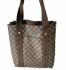 Louis Vuitton LV Damier Ebene Canvas Leather Cabas Beaubourg Tote bag