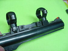 """Dan Wesson Clamp-On Vent Rib Custom Scope Mount & 1"""" Rings No-Drill No-Tapping"""