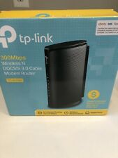 TP-Link TC-W7960 300Mbps Wireless Modem Router - Black