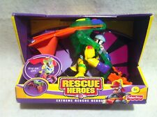 Rescue Heroes Extreme Rescue Heroes Cliff Hanger Air Rescue Specialist! SEALED!