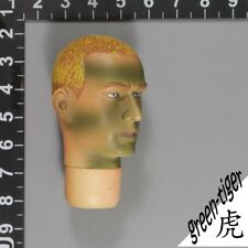 A353 1:6 Scale ace BBI Green beret camo head sculpt (FALTUY) AS IS COND