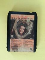 SUSAN RAYE My Heart A Mind Of Its Own 8 Track Tape 1972 Capitol 8XT 11055