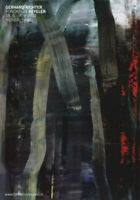 Gerhard RICHTER Wald Forest Basel Poster 16-1/2 x 11-3/4