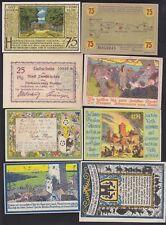 GERMAN NOTGELD 14 BANKNOTES LOT H