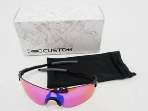 Oakley EVZero Prizm Blades Polished Black Cycling Sunglasses Prizm Road Lens