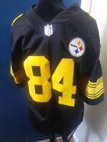 Pittsburgh Steelers Nike Color Rush NFL Jersey Antonio Brown size Small.. Nice