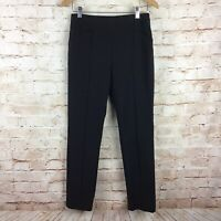 Chico's So Slimming Womens Black Dress Pants Size 1 Short Medium