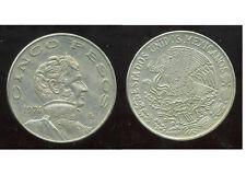 MEXIQUE 5 pesos 1974