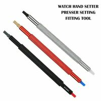 Set of 3pcs Watch Hand Setter Presser Setting Fitting Repair Tool DIY 0.2-1.5mm