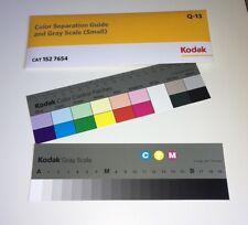"""Kodak séparation des Couleurs Guide avec échelle de gris petite taille #Q-13/20 cm (8"""")"""